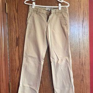 Aeropostale Stretch Khaki Pants size 3/4 Regular
